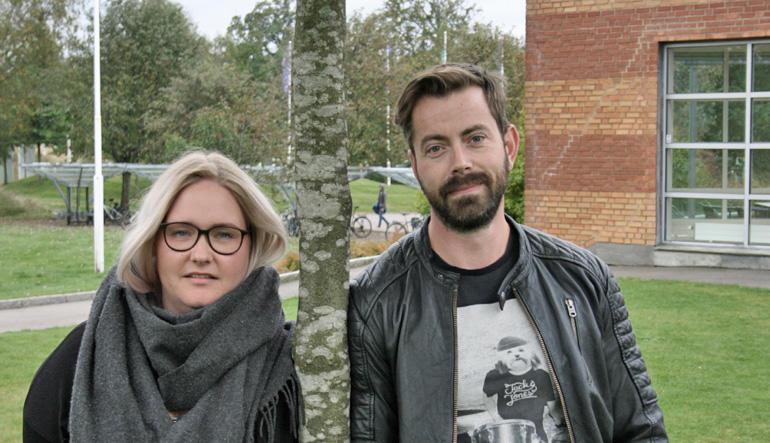Sandra Michelle Kleven og Steinar Vikholt FOTO