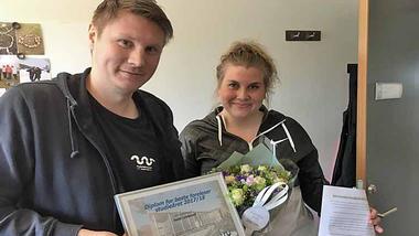 Ole Marius Refsnes og Heidi Lindsverk FOTO