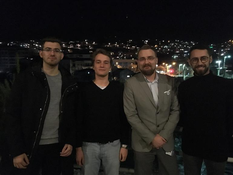 Ammar Lavic, Nezir Isanovic, Kim Hellevammen og Marijan Tustonja. FOTO
