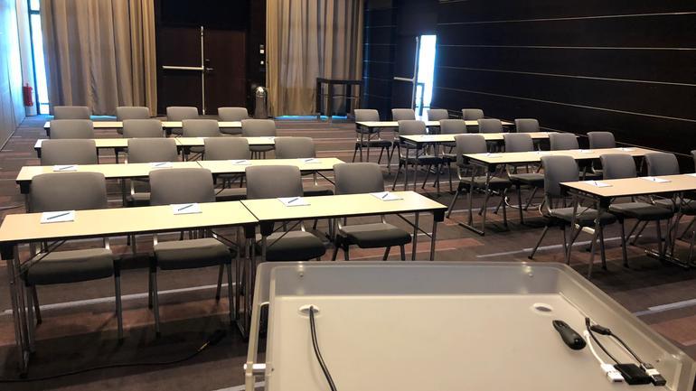 Semestermøtet avholdes minimum en gang i semesteret og samler tillitsvalgte fra alle USN sine fakultet og campus