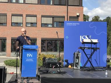 Campusleder i Bø Malte Lund Rasmussen