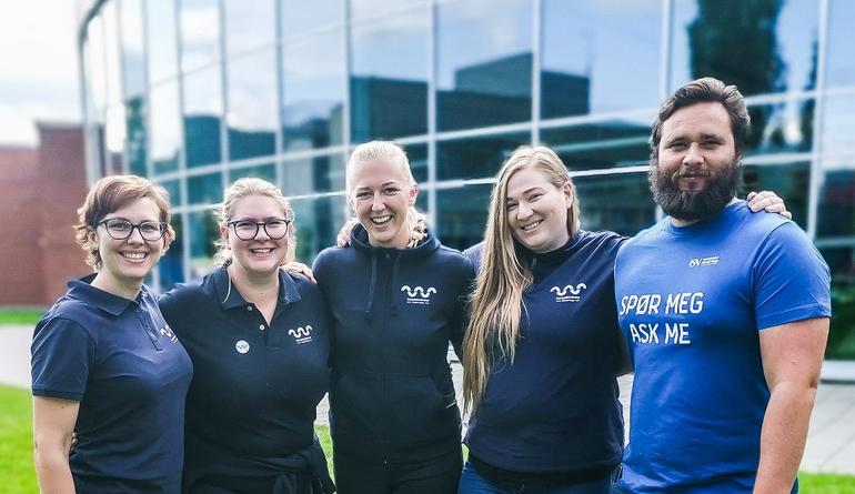 Campusstyret, her ved CS Porsgrunn, representerer og arbeider for studentene på sitt studiested.